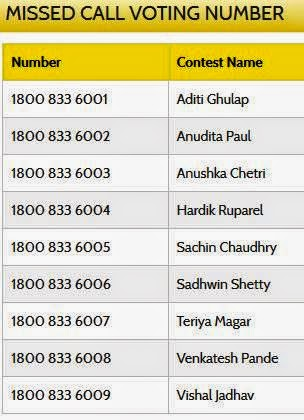 freecharge voting numbers