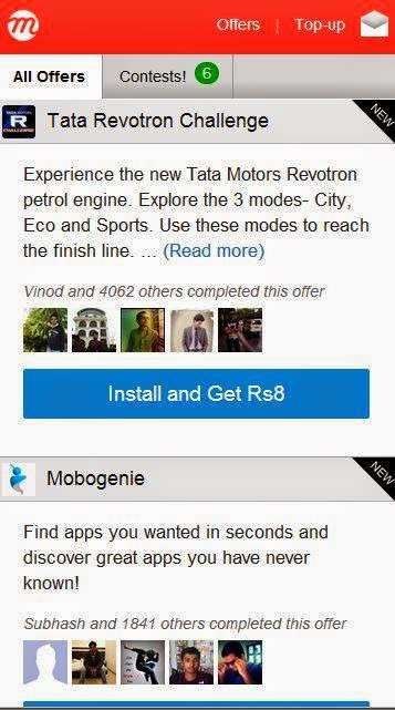 Mcent Free Mobile Recharge Applications