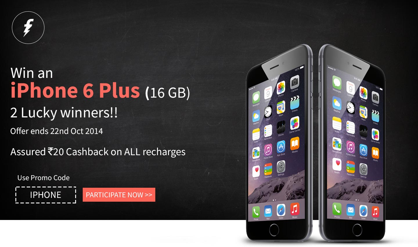 Freecharge iPhone 6 plus offer