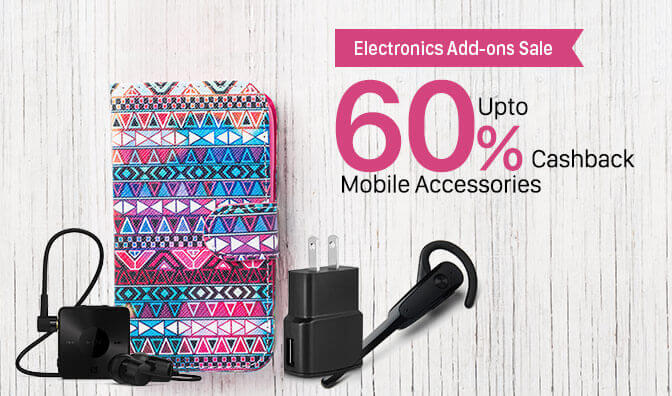 Paytm Electronics Add-ons Sale