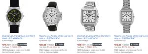 maxima mens watches discount amazon