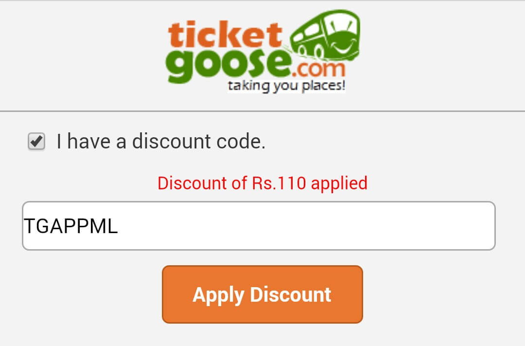 bus booking offer