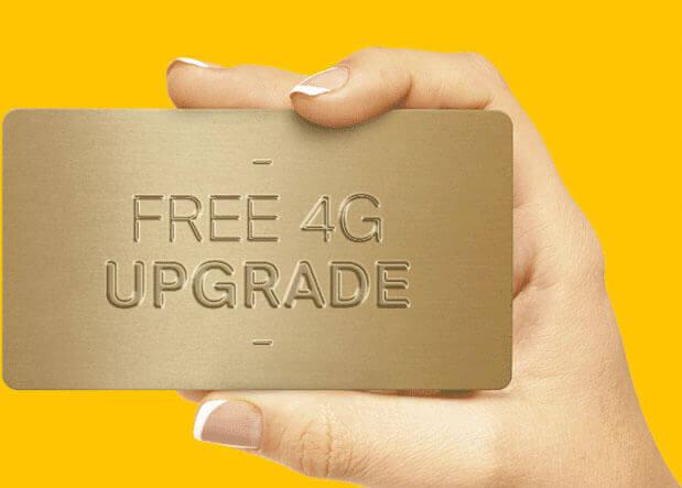 Free Airtel 4G Upgrade