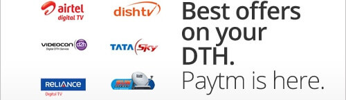 paytm dth recharge coupons