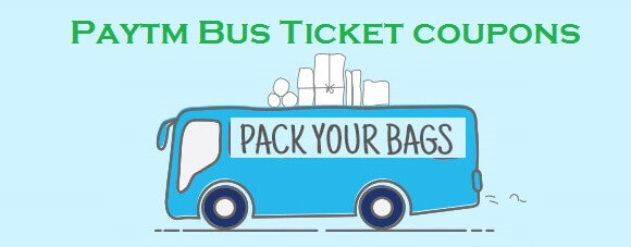 Bus ticket booking coupons