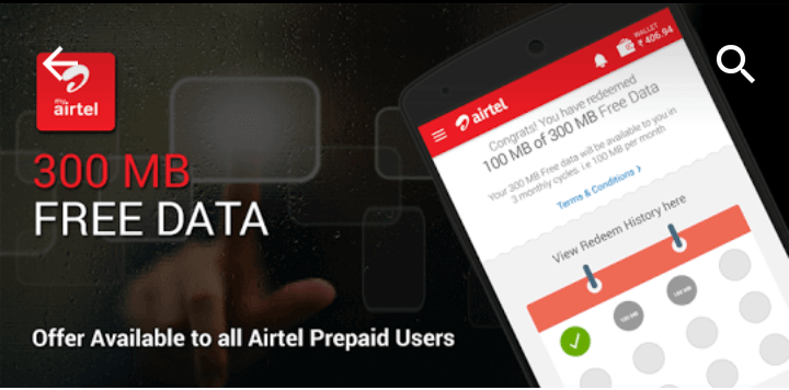 how to check download usage in airtel broadband