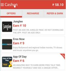 CashOn Recharge App