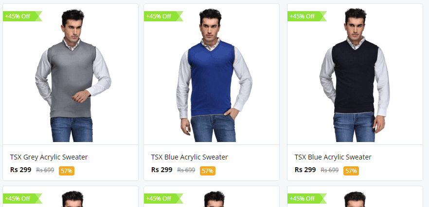 Paytm Winter Wear Coupon