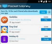 Pokkt Money Free Recharge Apps