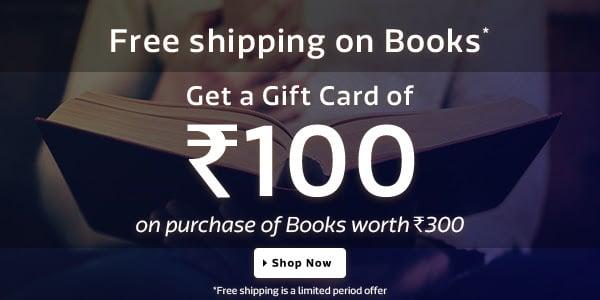 Get rs 100 flipkart gift voucher codes free on buying book free flipkart gift voucher codes negle Gallery