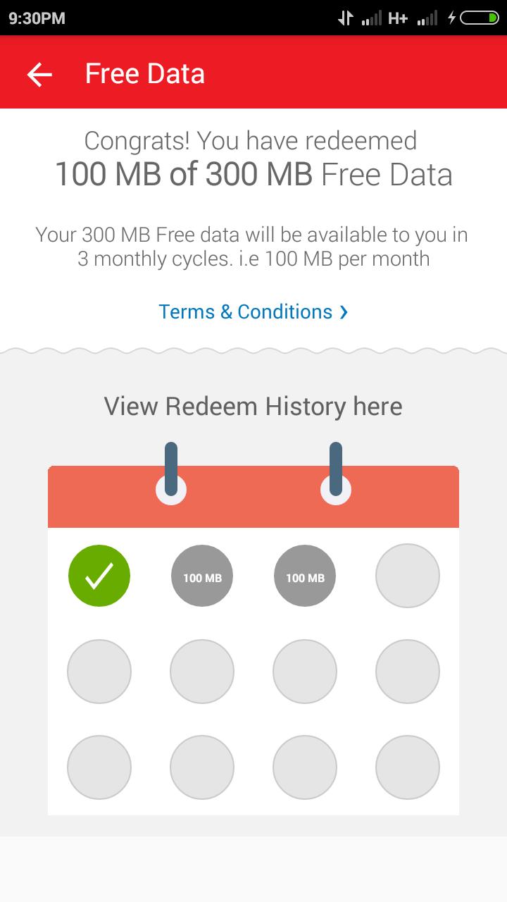 myairtel app 300mb 3g offer