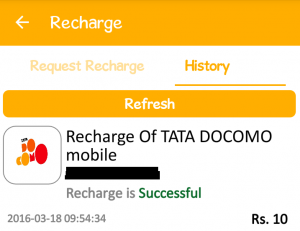 Free Recharge Trick Proof