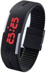 LED Silicon Bracelet Watch