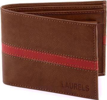 Laurels String CP Brown Wallet