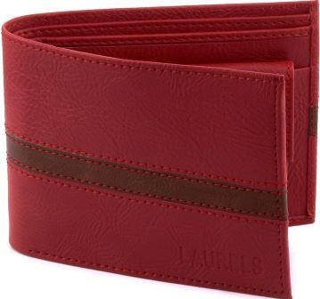 Laurels String CP Red Wallet