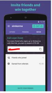 simkarma free recharge