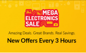 Snapdeal Mega Electronic Sale