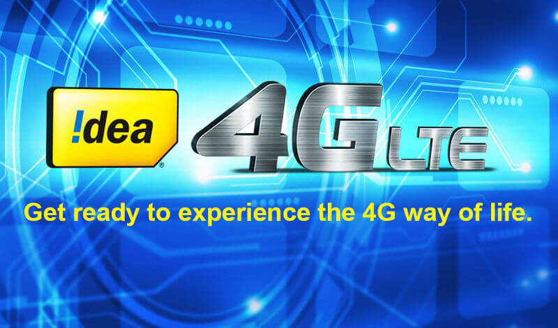Idea 4G data offer