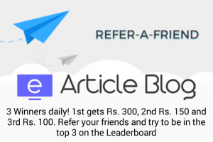 Bucker Refer and earn free 300 150 100 paytm cash daily earticleblog
