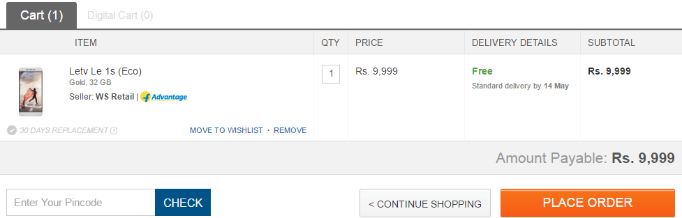 letv le 1s eco add to cart proof