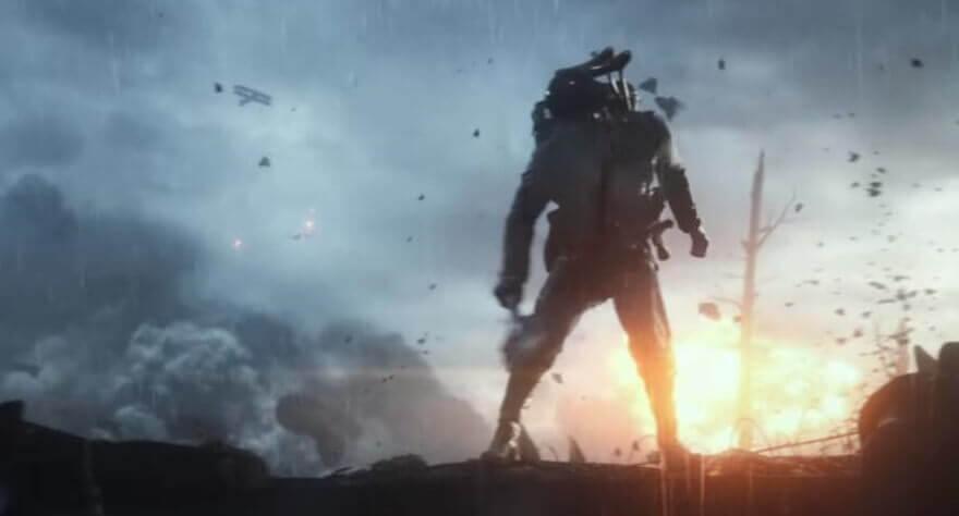 Battlefield-1 gameplay