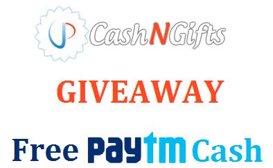 cashngifts free paytm cash