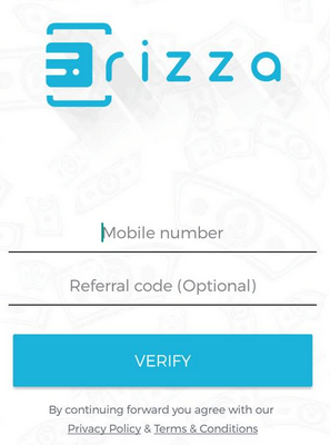 frizza sign up