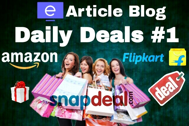 Earticle Blog | Daily Deals #1