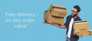 Amazon free delivery on any order value