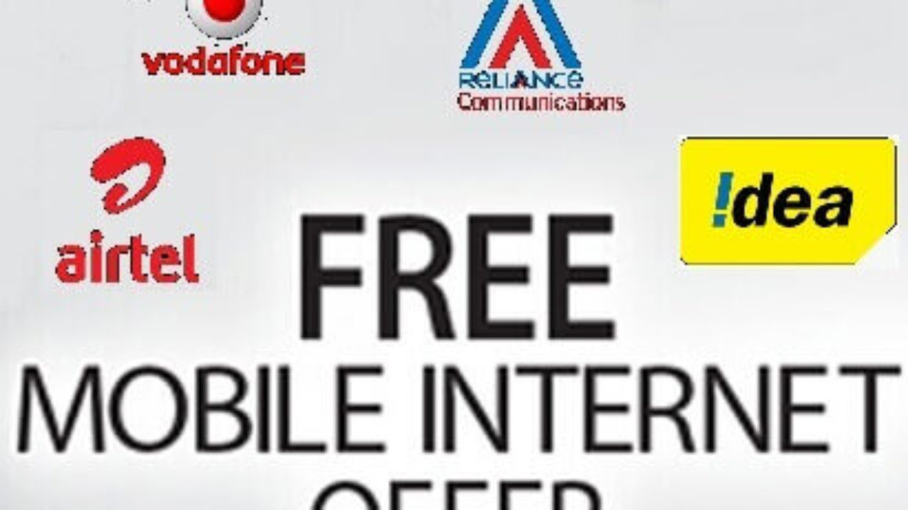 100% Working FREE INTERNET OFFERS for All Networks 2019