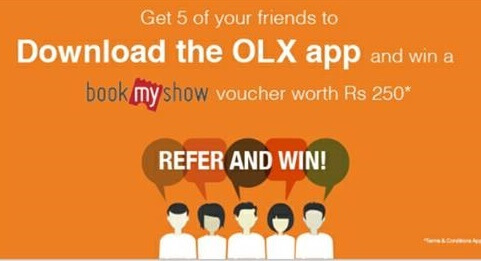 olx bookmyshow offer1
