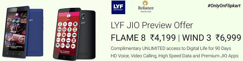 Buy LYF Reliance Mobile