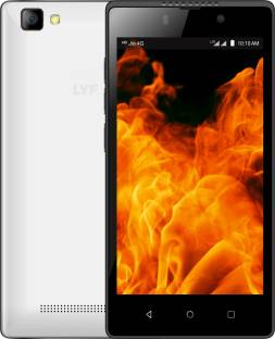 LYF FLAME 8 White with JIO Preview Offer