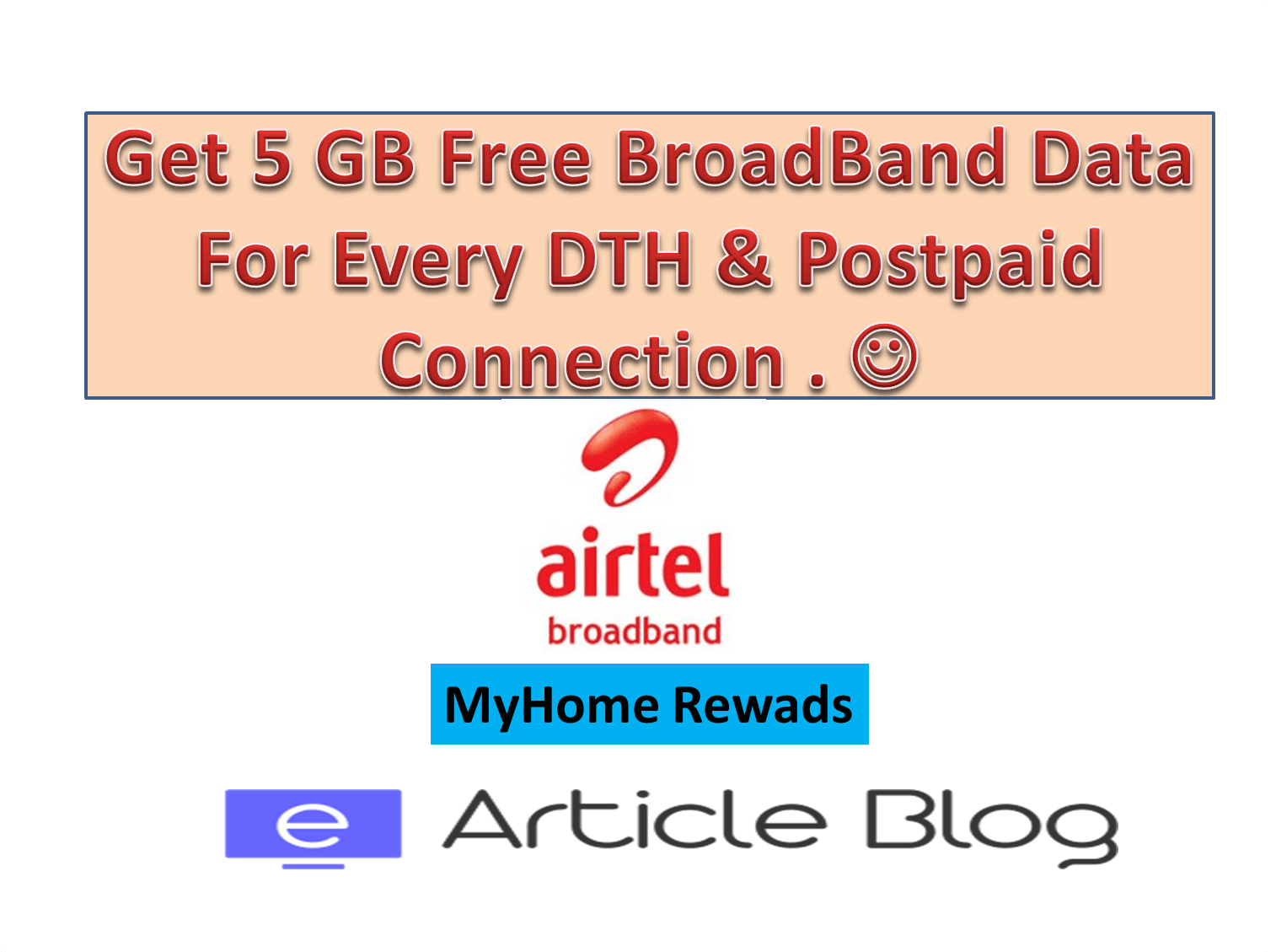 MyHome rewards airtel Broadband 5 GB offer get 5 gb extra internet on your airtel broadband for every dth,Airtel Home Broadband Plans