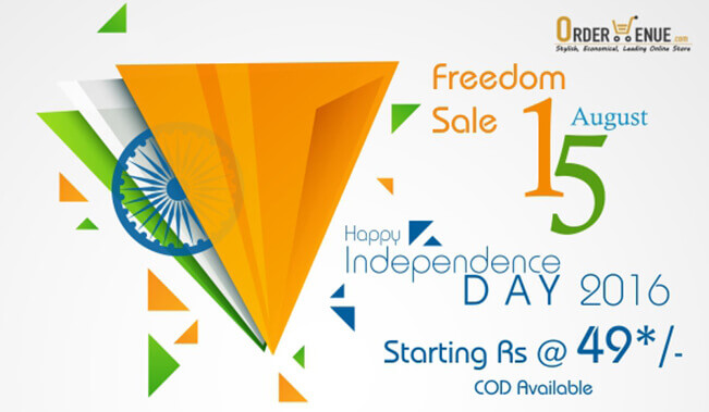 Ordervenue Independence Day Sale