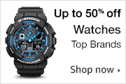 amazon 50% off watches