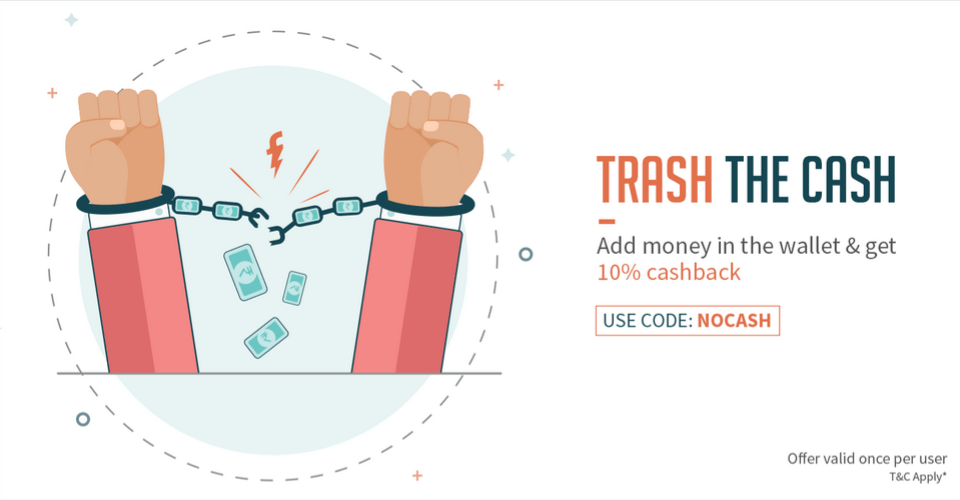 add money to freecharge wallet promo code get 10 cashback at freecharge on add money 13547
