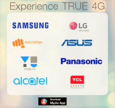 list of jio supported smartphone