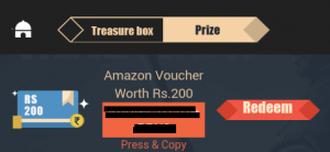 VMate Amazon Voucher Free ProofEarticleblog