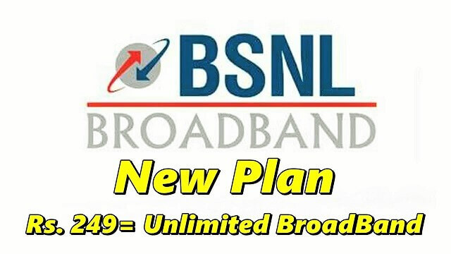 bsnl unlimited broadband 249