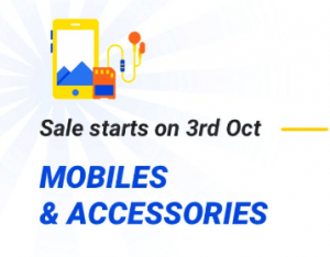 3rd Oct Flipkart Offers
