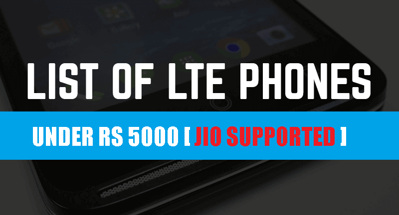 4g smartphone under 5000 rs