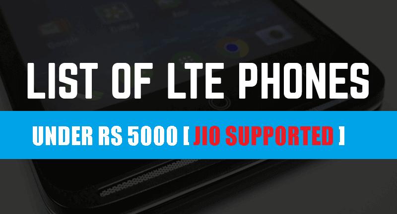 4g smartphone under 5000 rs