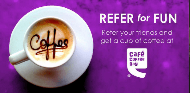veute refer and earn free coffee at ccd earticleblog