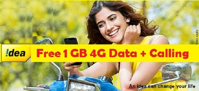 Idea-Free-1GB-Data-offer