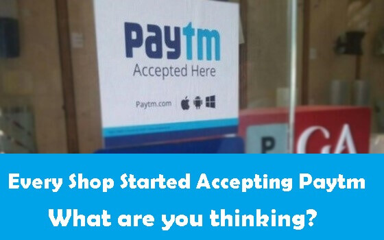 Accept Paytm at Your Shop in Hindi