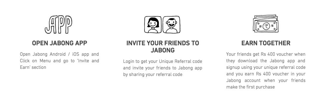 jabong-app-refer-program