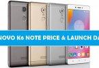 Lenovo K6 Note Price Online