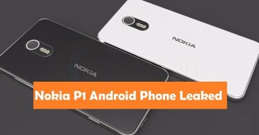 New Nokia P1 Android Phone Leaked