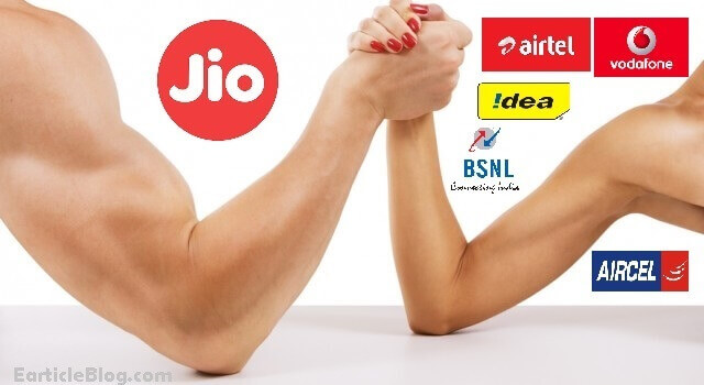 jio effect on airtel bsnl idea vodafone